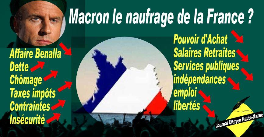 """Macron a décidé d'écraser """"la vermine"""", le peuple de France"""